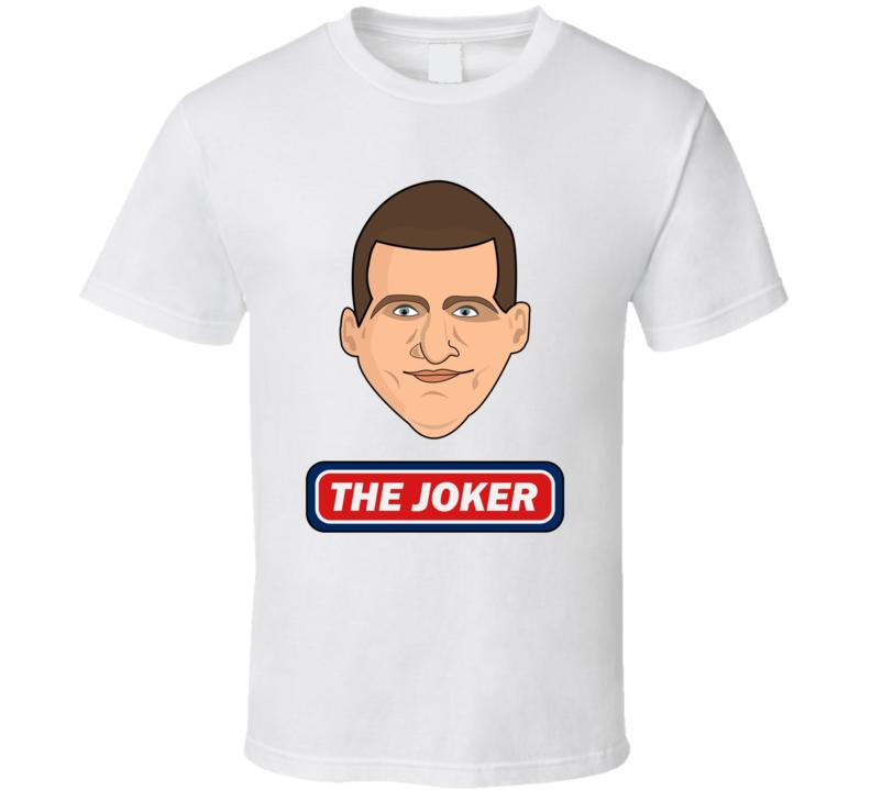 The Joker Nikola Jokic Fan Denver Basketball Gift T Shirt