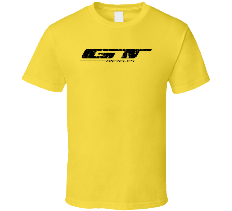 Gt Bikes Popular Bicycle Manufacturer Cool Outdoor Gift Worn Look T Shirt