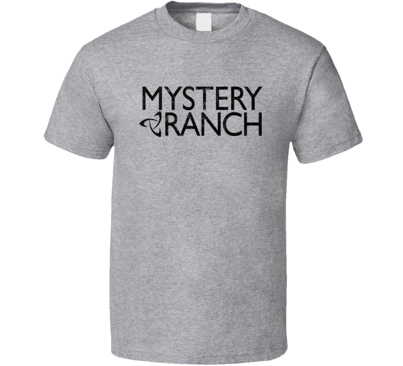 Mystery Ranch Camping Gift Cool Popular Campers Worn Look T Shirt