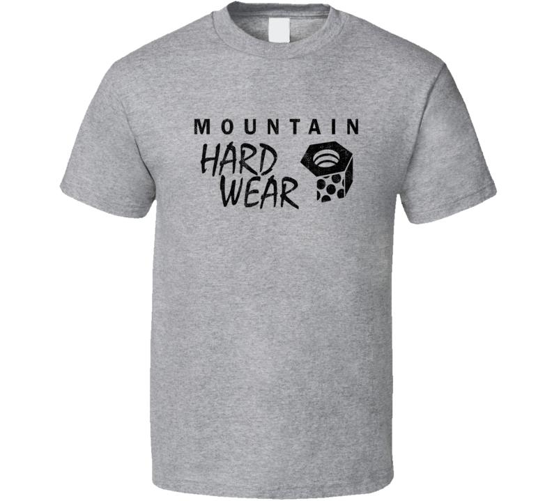 Mountain Hardwear Camping Gift Cool Popular Campers Worn Look T Shirt