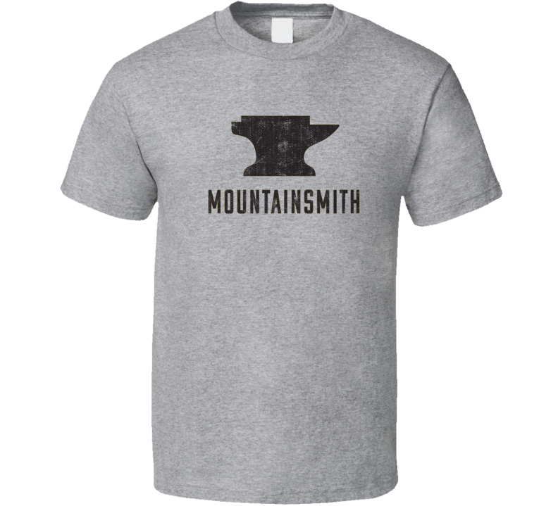 Mountainsmith Camping Gift Cool Popular Campers Worn Look T Shirt