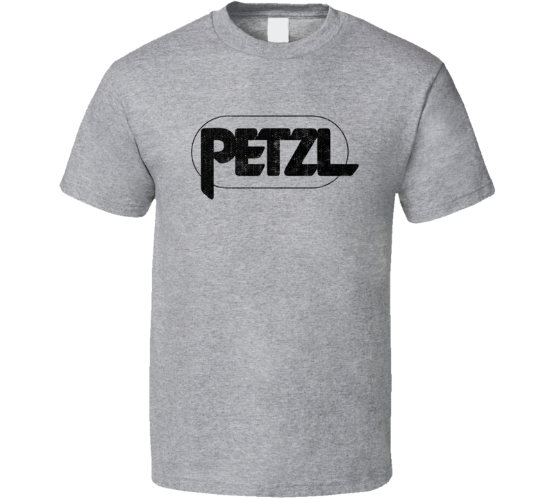 Petzl Camping Gift Cool Popular Campers Worn Look T Shirt