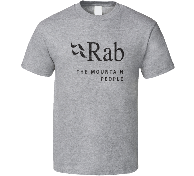 Rab Camping Gift Cool Popular Campers Worn Look T Shirt