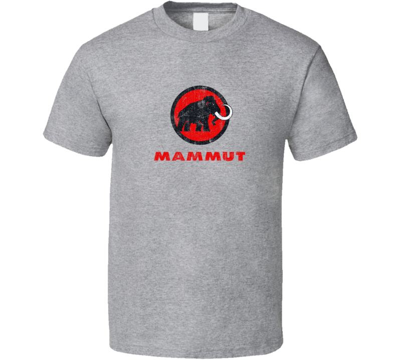 Mammut Camping Gift Cool Popular Campers Worn Look T Shirt