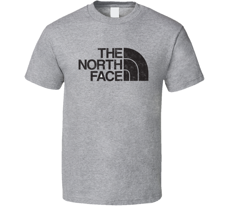 The North Face Camping Gift Cool Popular Campers Worn Look T Shirt