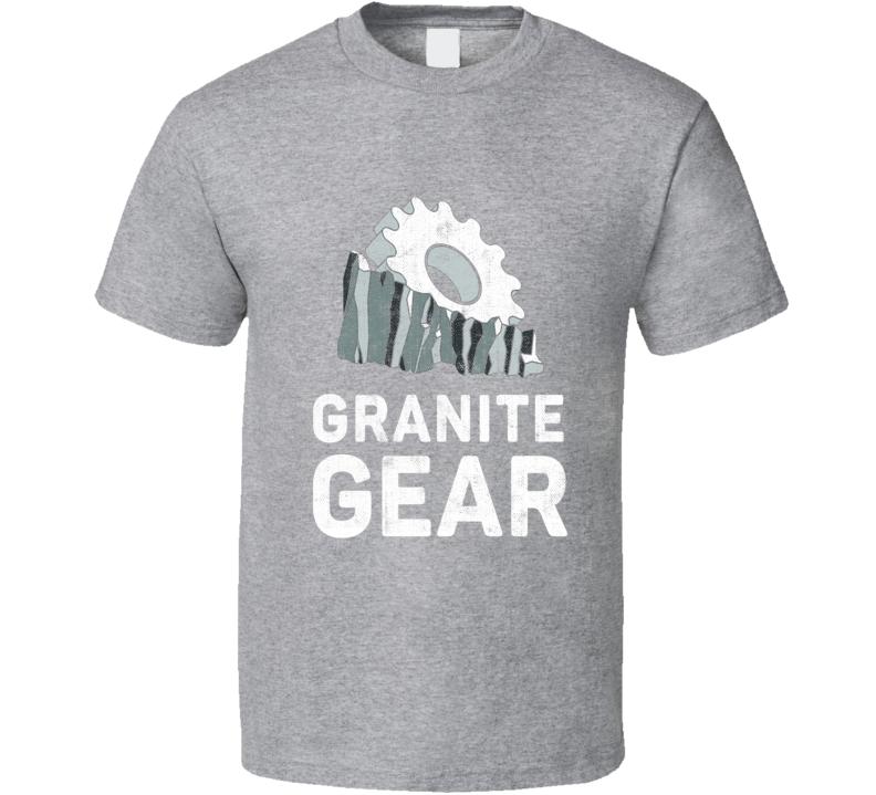 Granite Gear Camping Gift Cool Popular Campers Worn Look T Shirt