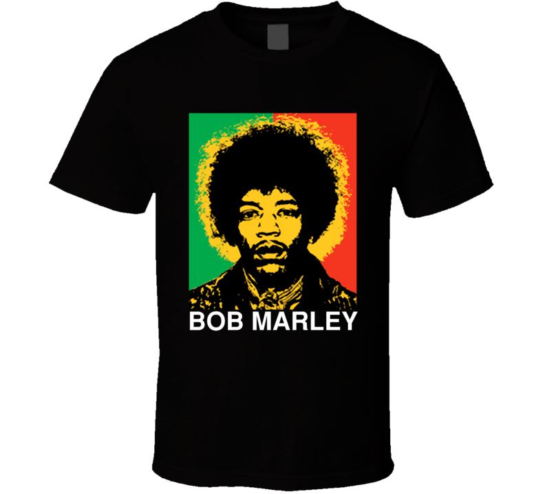 Bob Marely Reggae Music Fan Cool Gift T Shirt