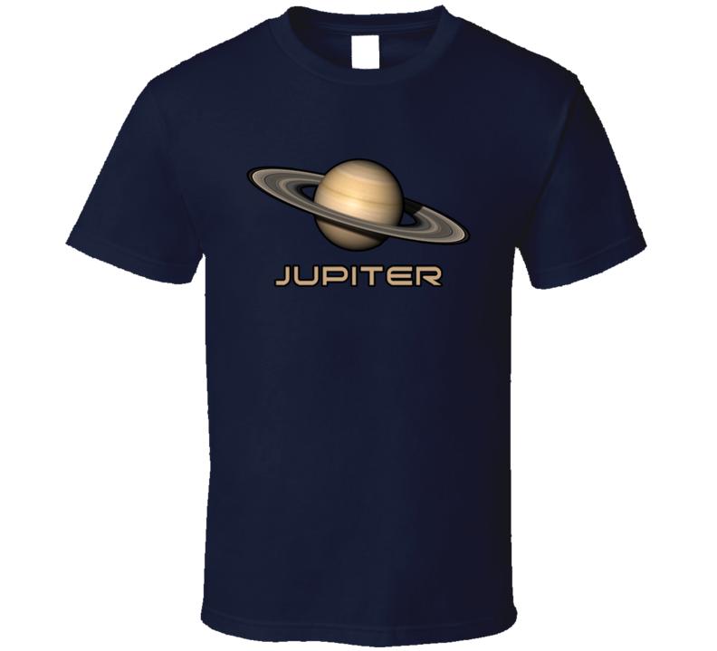 Planet Jupiter Cool Solar Sytem Fan Gifts For Geeks T Shirt