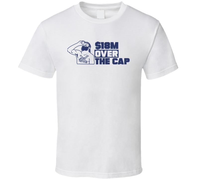 Nikita Kucherov Over The Cap Tampa Bay Hockey Fan T Shirt