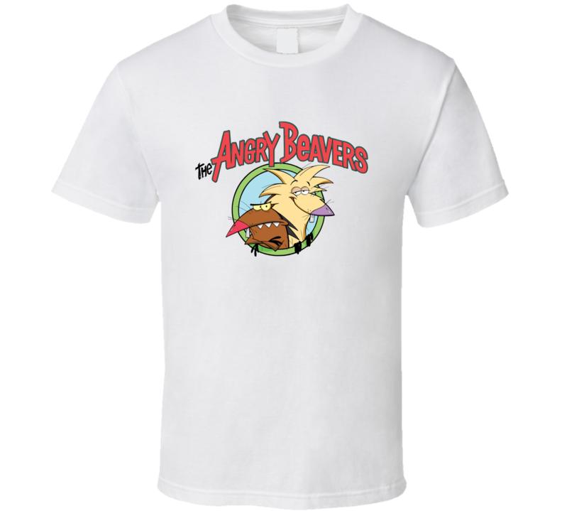 Angry Beavers Cartoon Tv T Shirt