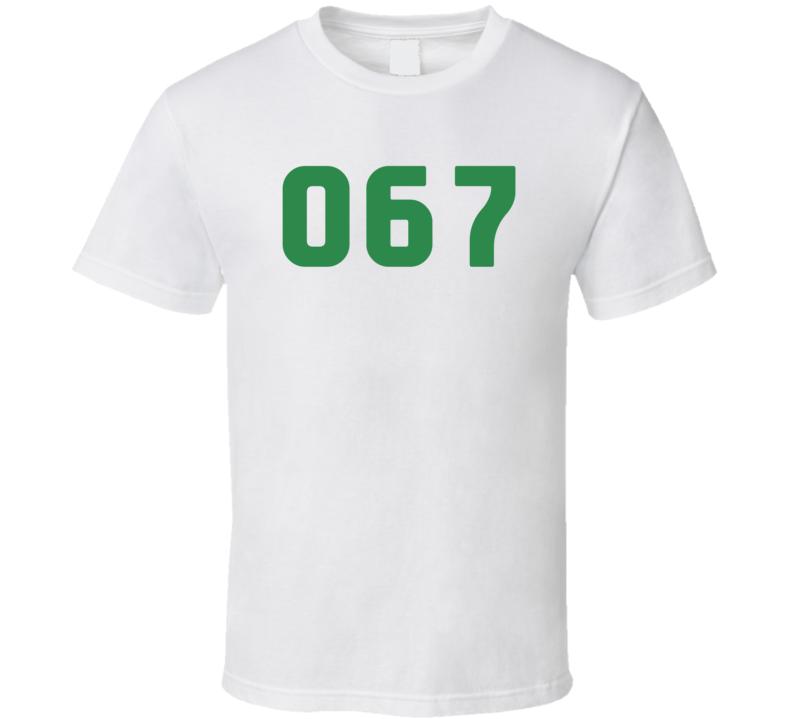 Squid Game Kang Sae Byeok Player Number 067 Fan Gift T Shirt