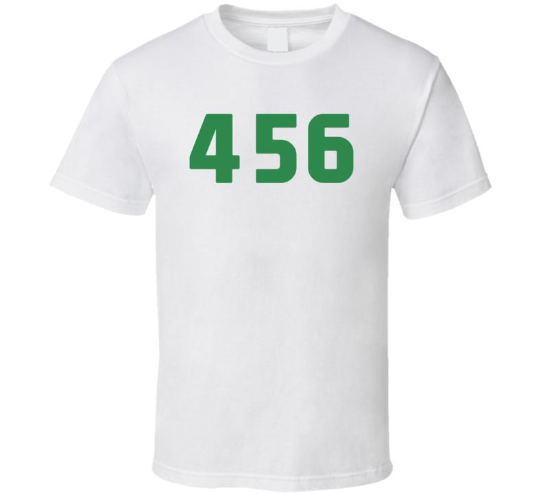 Squid Game Seong Gi Hun Player Number 456 Fan Gift T Shirt