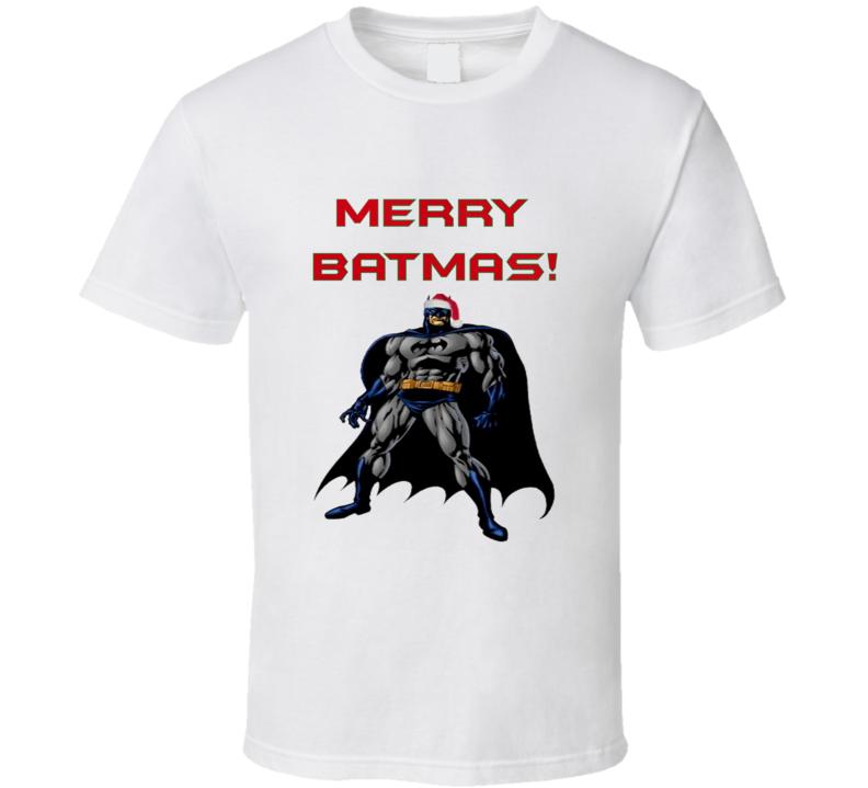 Merry Batmas Funny Batmas Christmas T shirt
