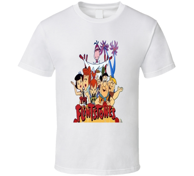 The Flintstones Cartoon T shirt