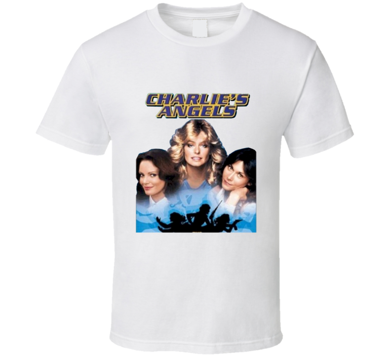 Charlies Angels Old TV Show Fan T shirt