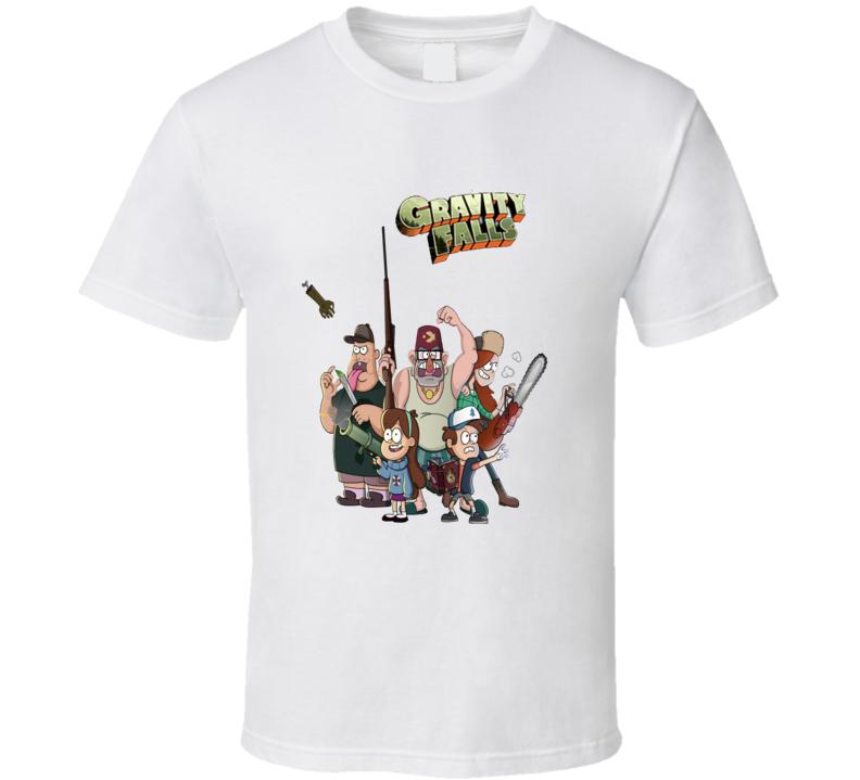 Gravity Falls Cartoon T shirt