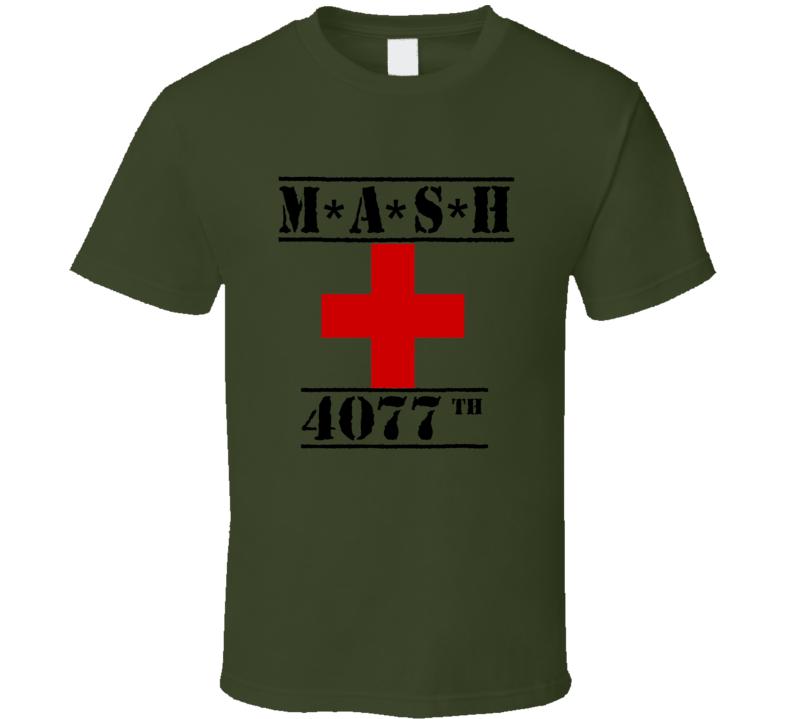 Mash 4077th Red Cross TV Show T shirt
