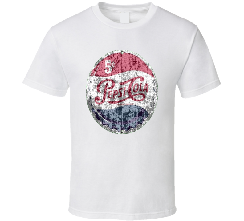 Pepsi Cola Retro Bottle Cap T shirt