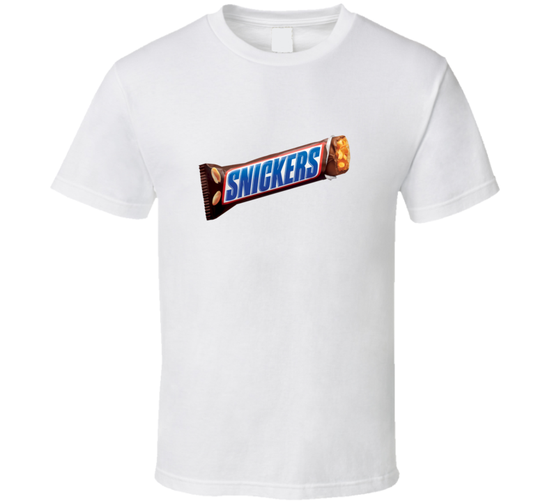 dc8293afe81 Snickers Candy Bar T shirt