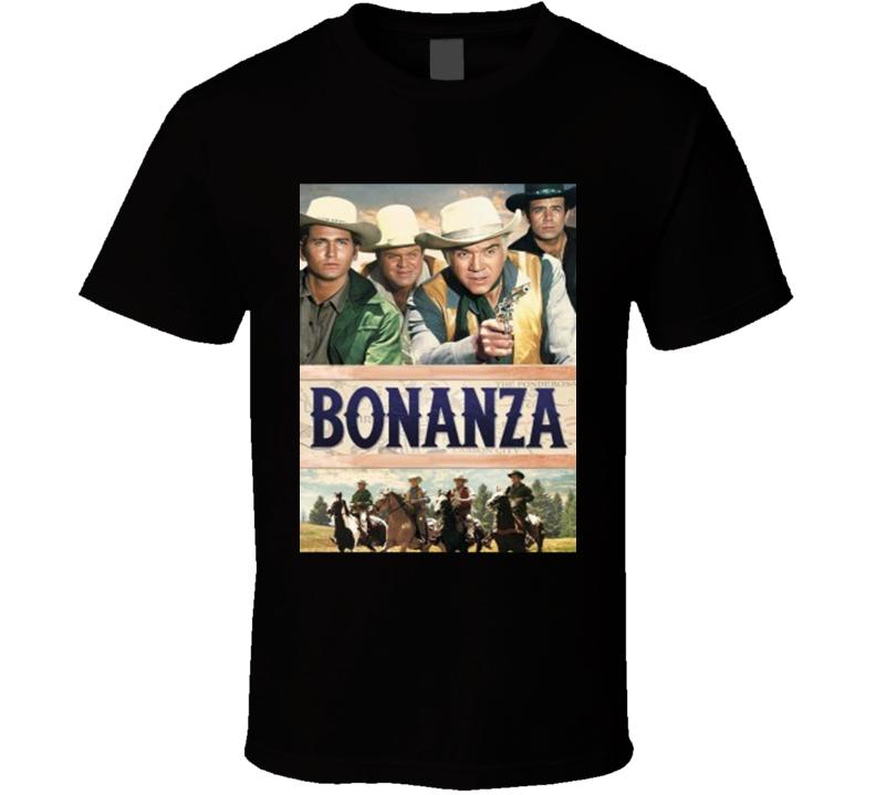 Bonanza Retro TV Show T shirt