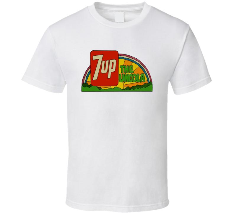 7 Up The Uncola Retro Soda Pop T shirt