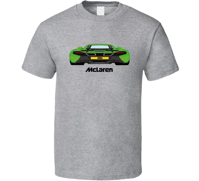 McLaren 650s Rear View Trending Car T shirt