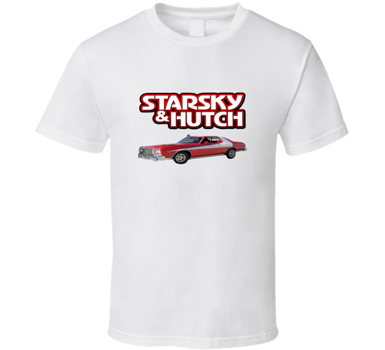 Starsky And Hutch Retro 70s TV Show T shirt
