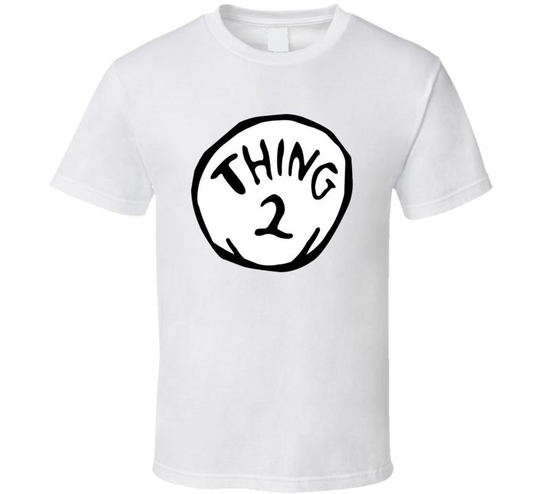 Thing Two Dr Seuss T shirt