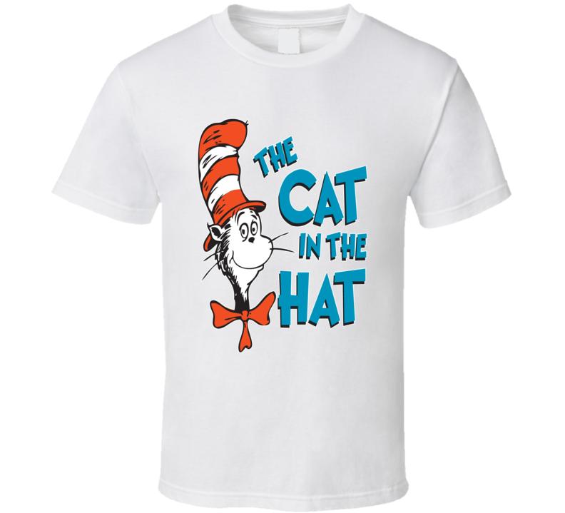 The Cat In The Hat Dr Seuss Fan T shirt