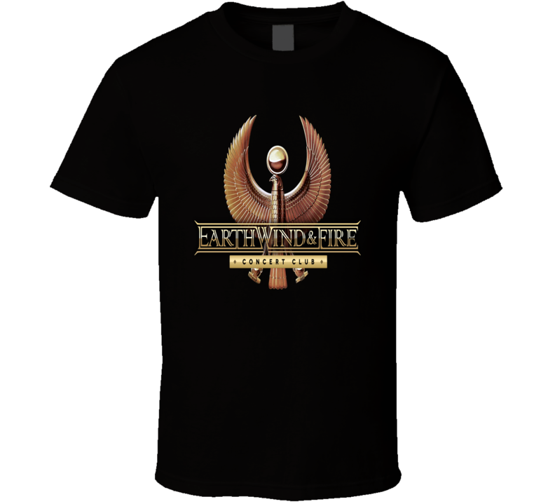 Earth Wind And Fire Concert Club 70s 80s Soul Funk Band T shirt