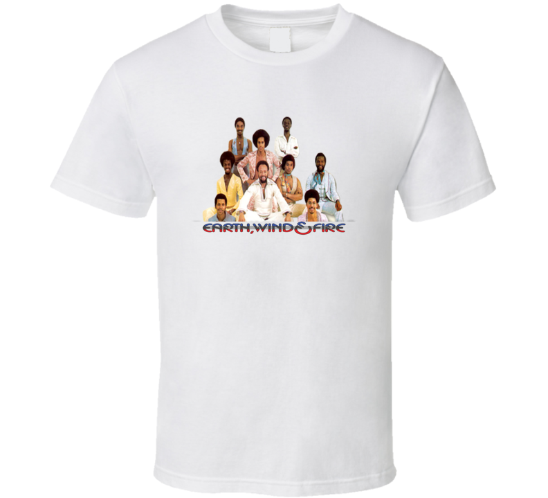 Earth Wind And Fire 70s 80s Soul Funk Band Fan T shirt