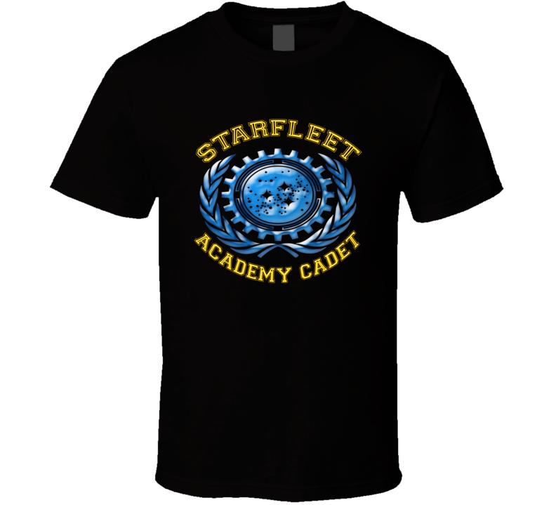 Star Trek Starfleet Academy Cadet Trekky T shirt