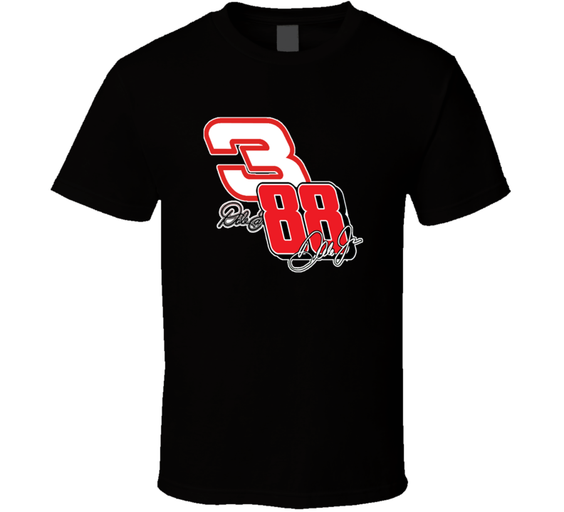 Dale Earnhardt Sr And Jr 3 And 88 Nascar Legends T shirt