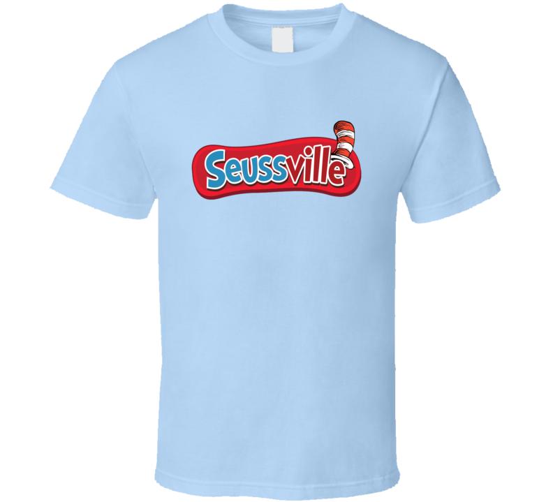 Seussville Dr Seuss Popular Childrens Books T shirt