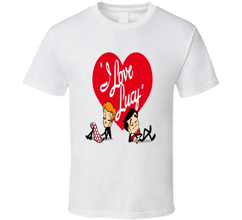 I Love Lucy Popular 1950s Sitcom TV Show T shirt