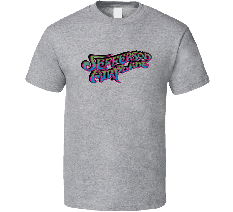 Jefferson Airplane 60s 70s Psychedelic Rock Band Fan T shirt