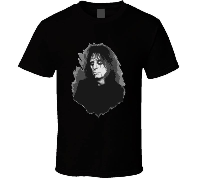 Alice Cooper 60s Rock Star Fan T shirt
