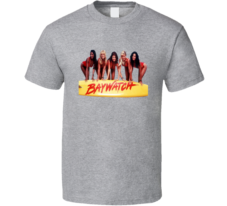 Baywatch Popular 90s TV Show Fan T shirt