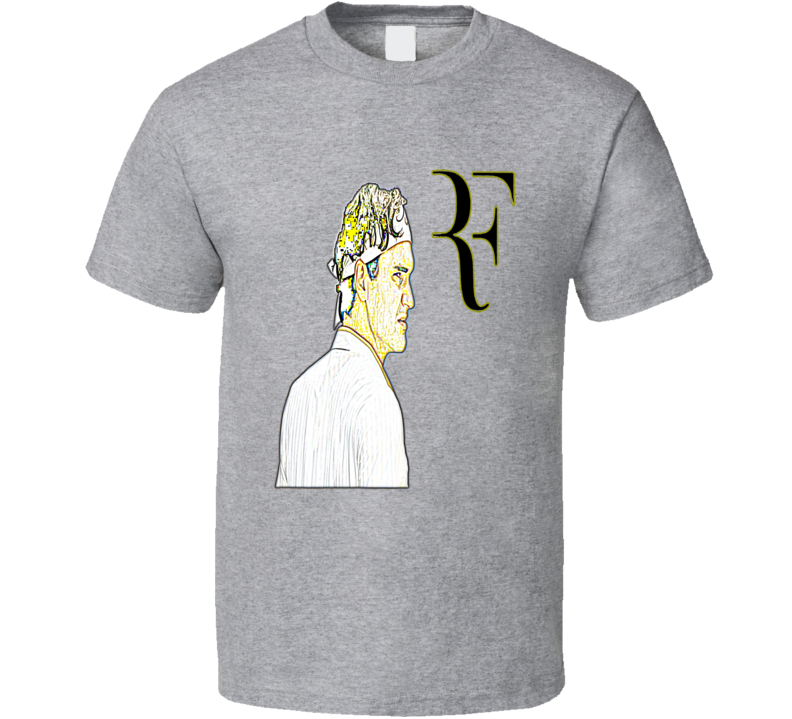 Roger Federer Tennis Player Fan T shirt