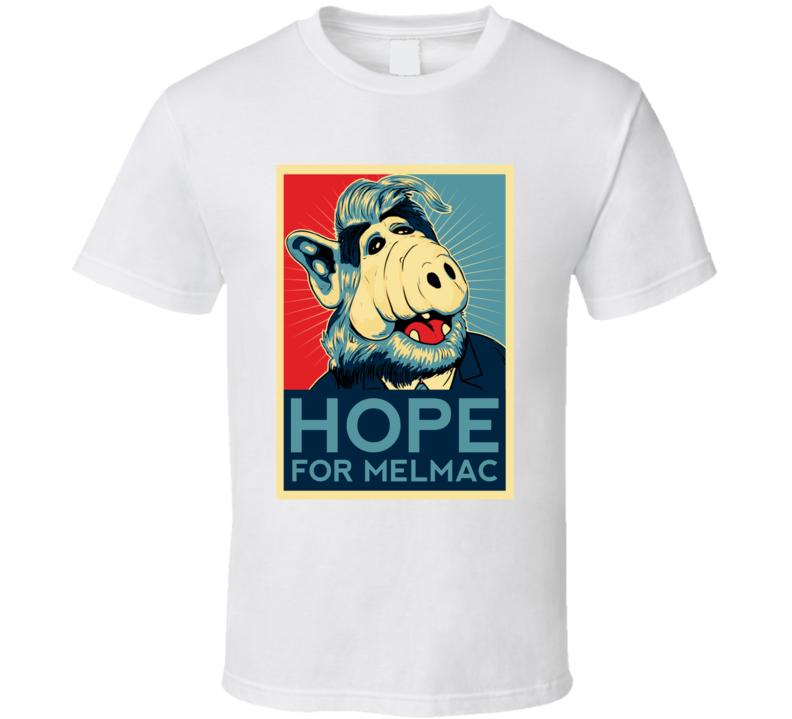 Alf Hope Poster Popular 80s Sitcom Fan T shirt