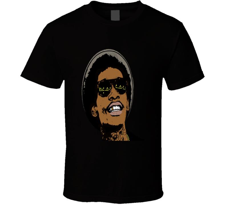 Wiz Khalifa Popular Rapper Fan T shirt