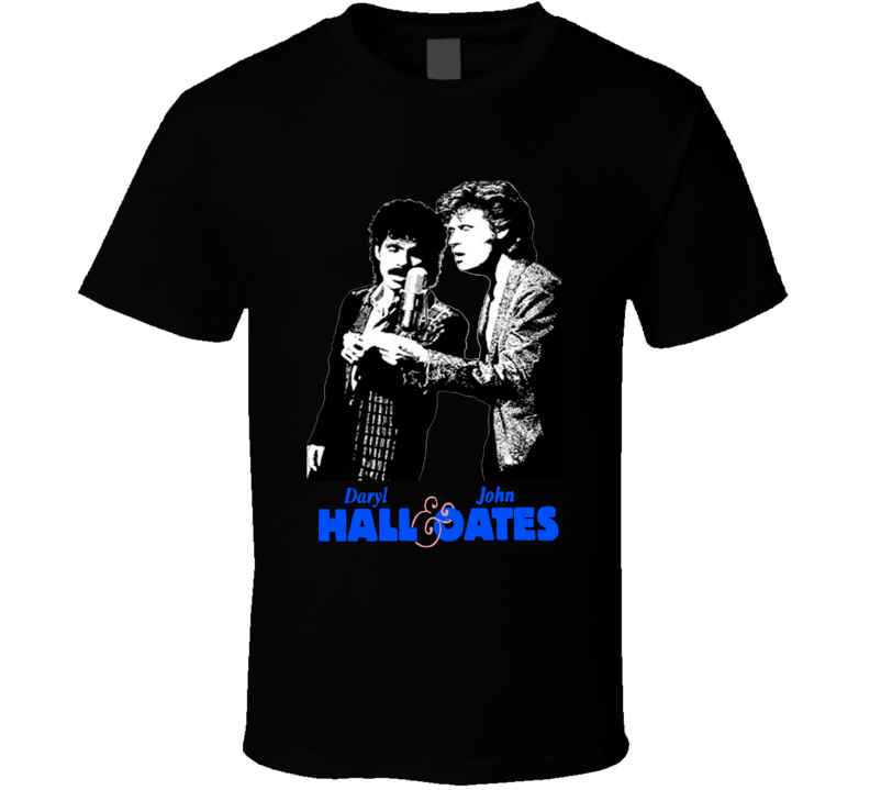 Hall And Oates 70s 80s Rock Duo T shirt