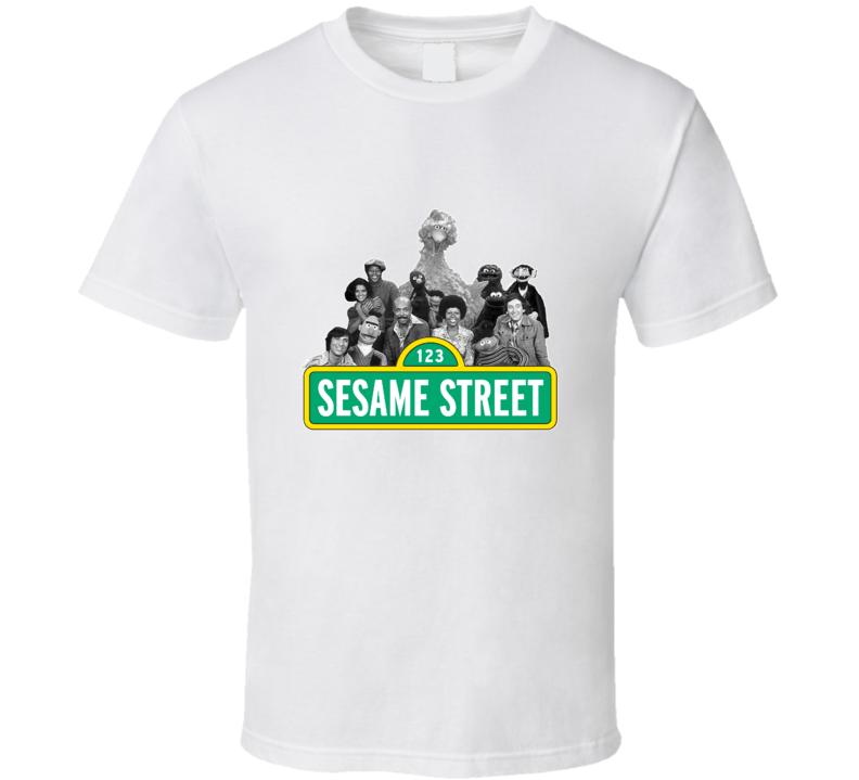 Sesame Street Childrens Popular Retro TV Show Fan T shirt