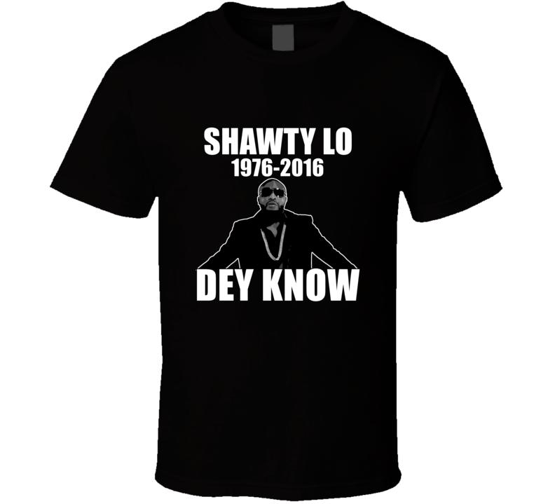 Shawty Lo RIP 1976-2016 Fan T shirt
