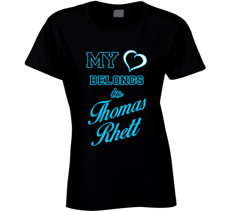 Thomas Rhett My Heart Belongs To Thomas Rhett Fan T shirt