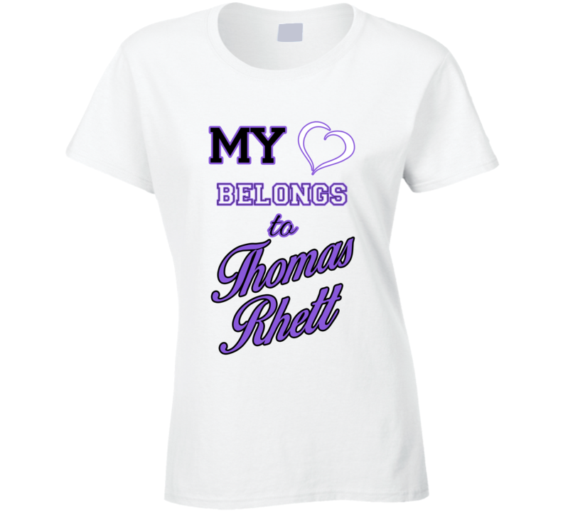 Thomas Rhett Heart Belongs To Thomas Rhett Fan T shirt