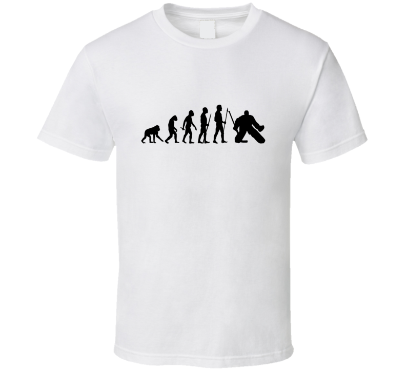Hockey The Evolution Of Man T shirt