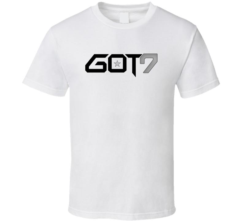 Got7 South Korean Boy Band Fan T shirt