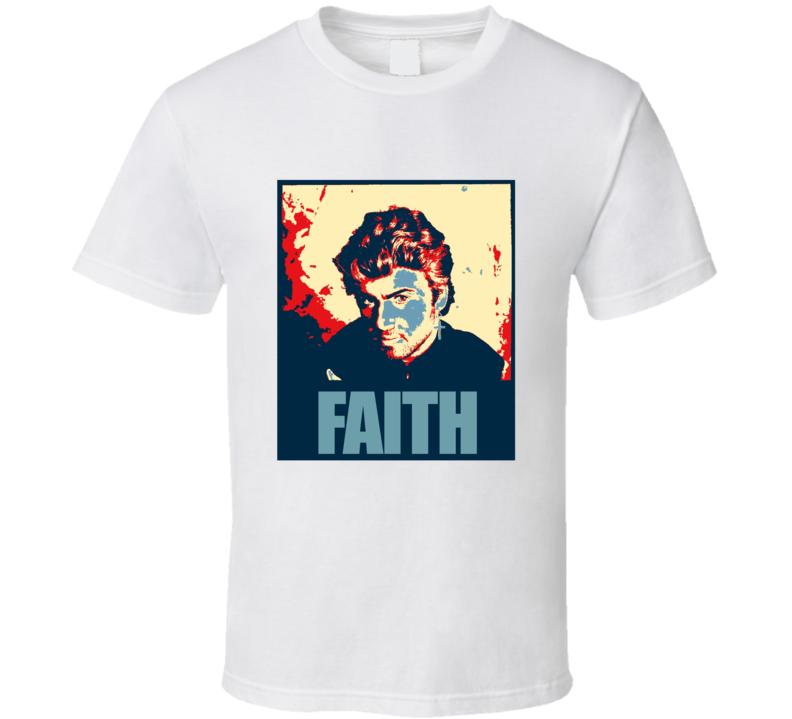 George Michael RIP Faith T shirt