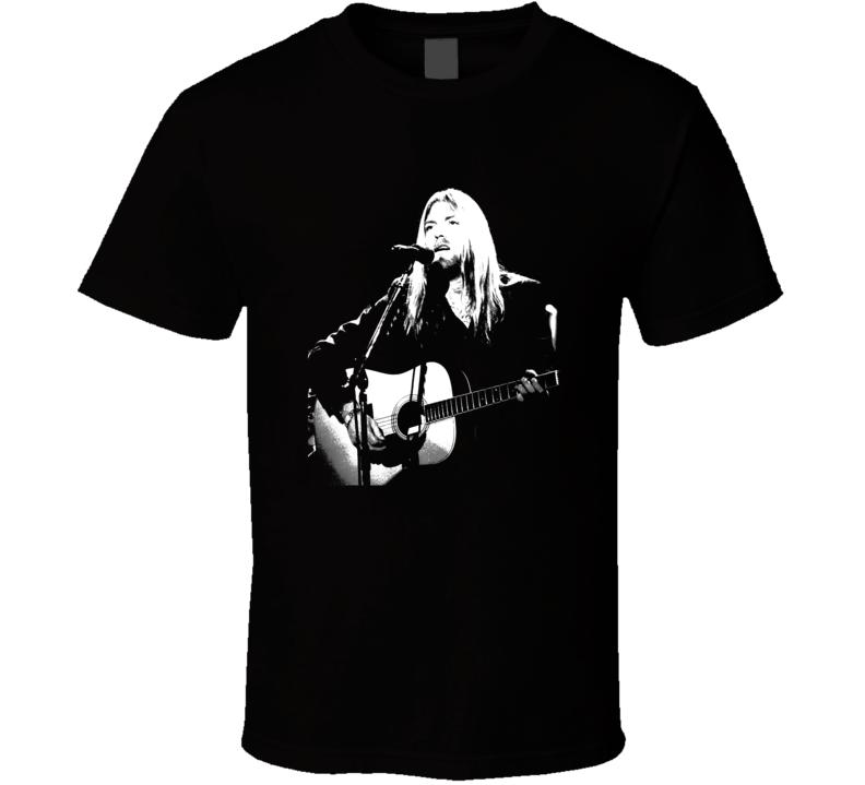 Greg Allman Fan T shirt